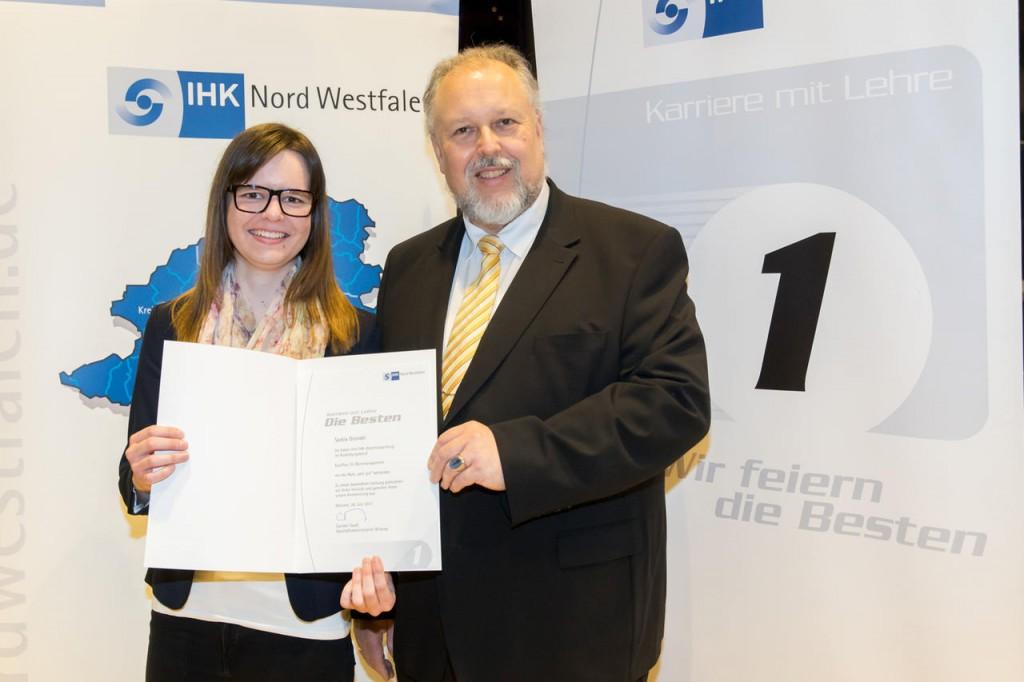 IHK Nord Westfalen Bestenehrung Kreis Recklinghausen