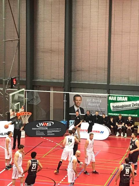 Citybasket Recklinghausen mit WWS-Banner